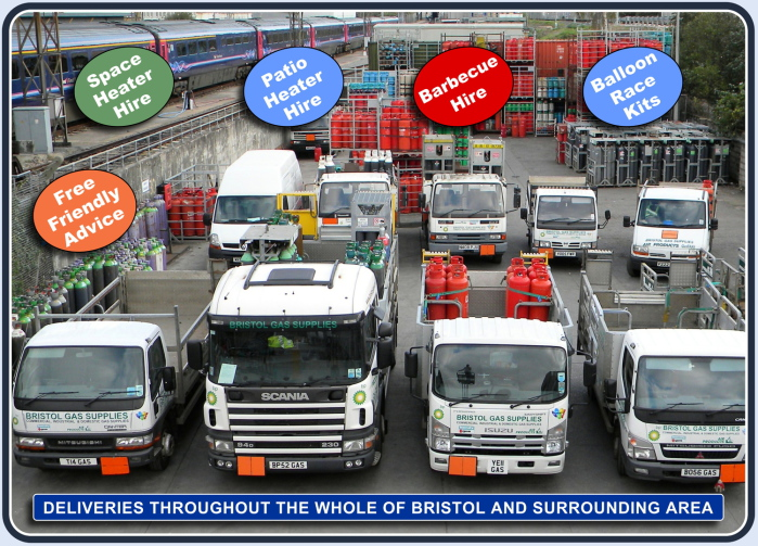 Bristol's Largest Independent Gas Supplier: Bristol Gas Supplies Ltd | Click to see our Delivery Area