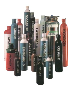 Air Products Gas Bottles - Gas for Welding and Industrial Purposes