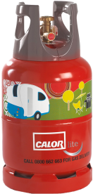 Click on this CALOR Lite Gas bottle photo to go to the Calor Gas website