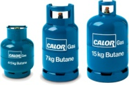4.5kg, 7kg and 15kg Butane Gas Bottles