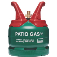 CALOR 5kg Patio Gas Green Cylinder