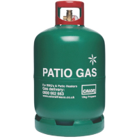CALOR 13kg Patio Gas Green Cylinder