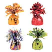 Party Goods - Foil Helium Balloon Weights