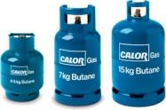 4.5kg, 7kg and 15kg Butane Gas Bottles