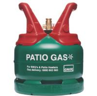 Calor 5kg Patio Gas Green Cylinder